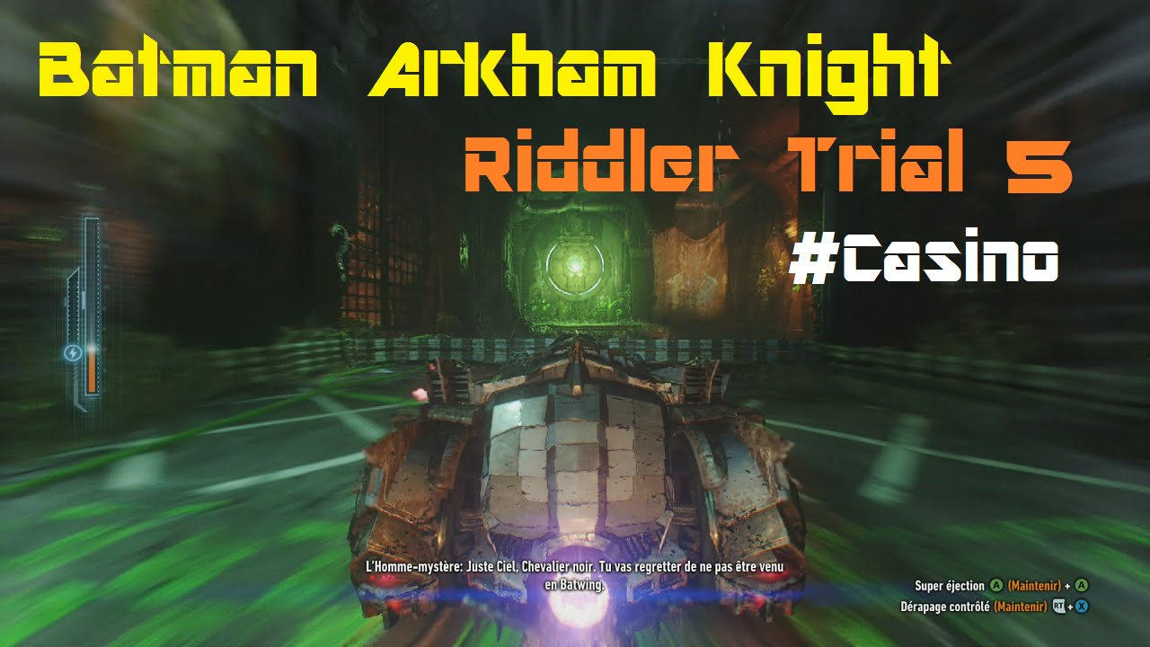 Arkham knight riddler casino planet hollywood poker tournament schedule 2015
