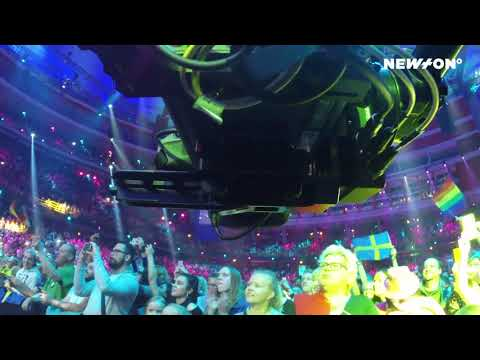 Railcam with NEWTON stabilized remote camera head @ Eurovision Song Contest 2016 & 2017