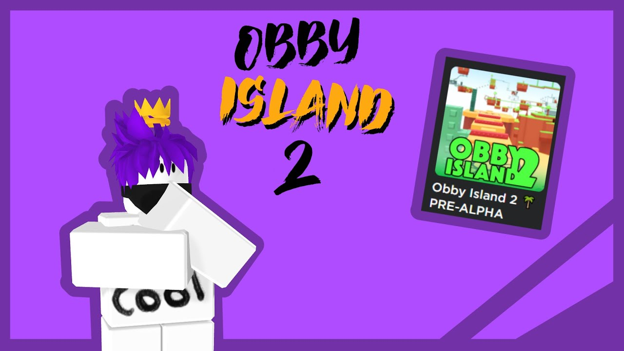 playing obby island 2