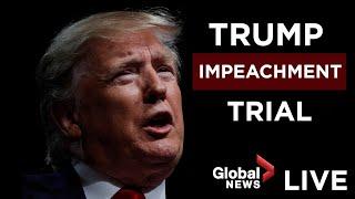 Trump impeachment trial: Day 1   LIVE
