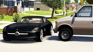 Crossroad Car Crashes Compilation #16 - BeamNG.Drive