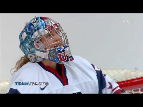 U.S. Women's Hockey Team Beats Canada 3-2 In Shootout