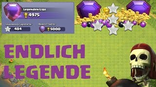 ICH BIN ENDLICH IN DER LEGENDEN LIGA | CLASH OF CLANS