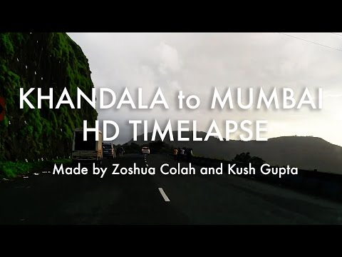 Rameses B - Beside You Music Video / Khandala to Mumbai HD Timelapse(via Expressway)