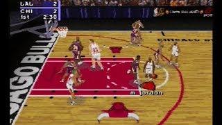 NBA Live 97 - Los Angeles Lakers vs Chicago Bulls