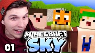 UNSER NEUES LEBEN! ✪ Minecraft Sky #01 | Paluten