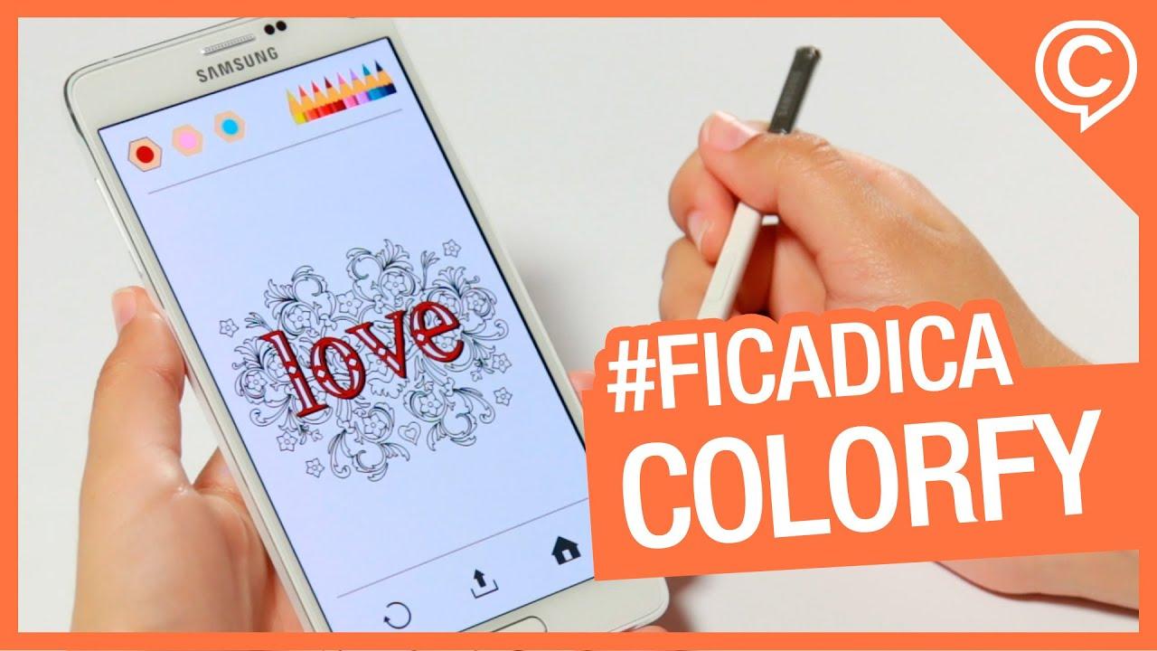 Dica De App Colorfy Colorir Para Adultos