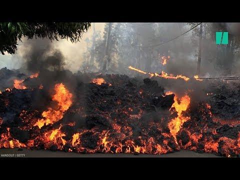 Hawaii's Kilauea Volcano Eruption Shows 'No Sign Of Slowing Down'
