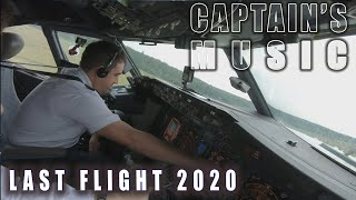 Captain's Music | Last Flight 2020 | #boeing737 #aviation