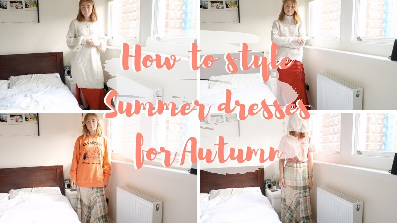 [VIDEO] - From Summer to Autumn: Slip Dresses 2