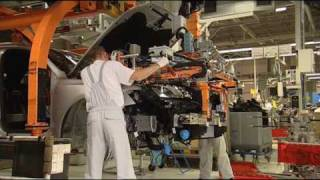 Audi Q5 on the Production Line