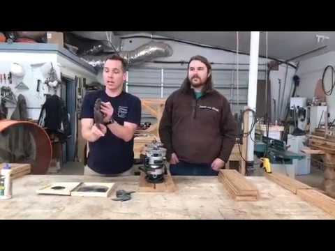 How To Make A Tongue And Groove Joint With Harp Design Co Youtube