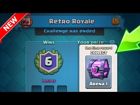 RETRO ROYALE NEW CHALLENGE MODE UPDATE | Clash Royale | 1 Year Anniversary Event