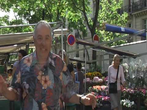 PARISCAM09 - QUITE POSSIBLY THE BEST PARIS STREET MARKET