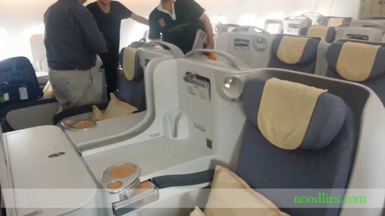 China Southern Airlines A380 Business Cl Review - YouTube