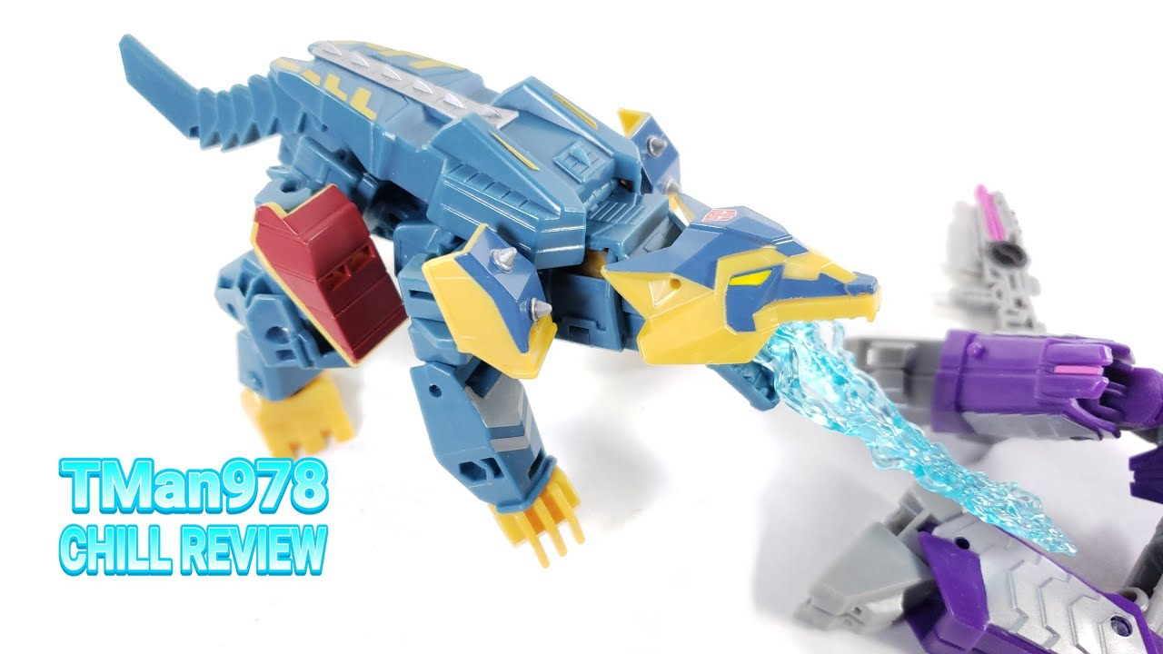 Transformers Cyberverse Deluxe Thunderhowl CHILL REVIEW