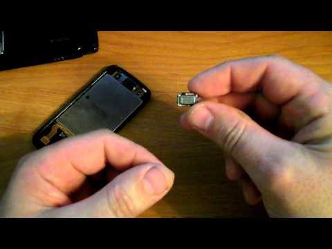 Замена разг динамика на Nokia N86