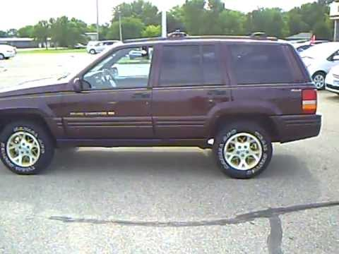 1996 Jeep Grand Cherokee Limited Youtube