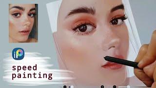 이비스페인트 디지털드로잉 얼굴그리기 채색과정 ibisp…