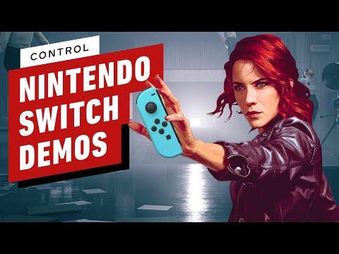Control: Nintendo Switch Performance vs Enhanced Graphics Demo