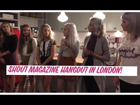 Shout Magazine Hangout in London!! | PinkSparkle