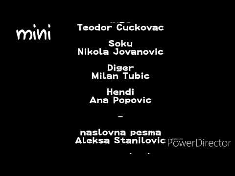The Adventures Of Chuck And Friends Credits (Serbian, Mini)
