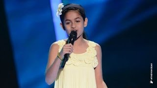 Elina Sings Part Of Your World | The Voice Kids Australia 2014