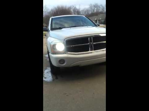 2005 Dodge Durango Headlights Tail Lights Strobe Light