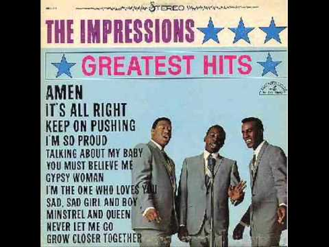 The Impressions - Gypsy Woman (1961)