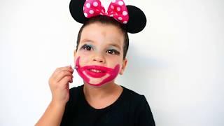sami and onaysa stole mom's makeup - les boys tv