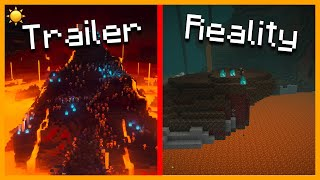 ☀️ MINECRAFT 1.16: Trailer Vs Reality