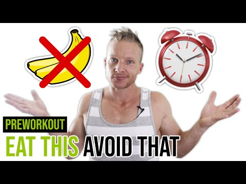 How Many Hours Before A Workout Should I Eat? ⏰ (BEST PRE-WORKOUT FOODS)   LiveLeanTV