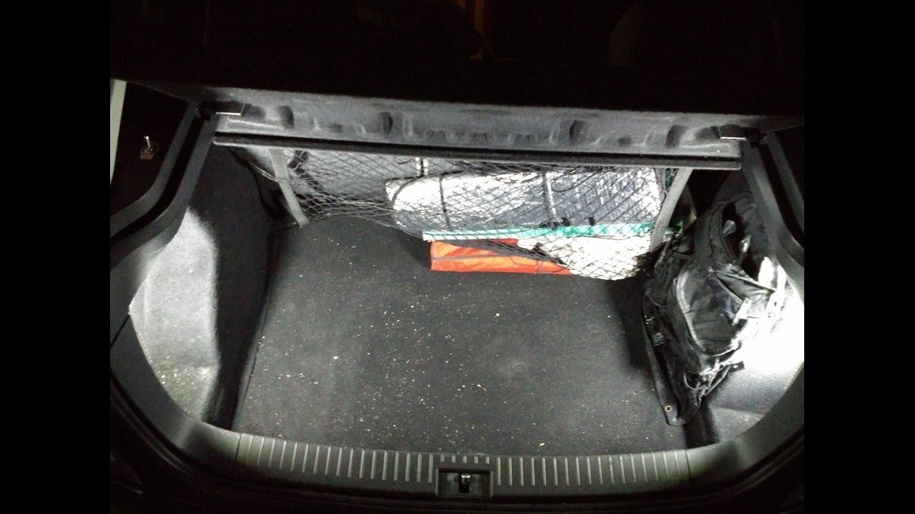 BRICO TUTORIAL Instalar luz en el maletero de Seat Ibiza ...