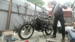 Ремонт китайського мотоцикла, коротка інструкція