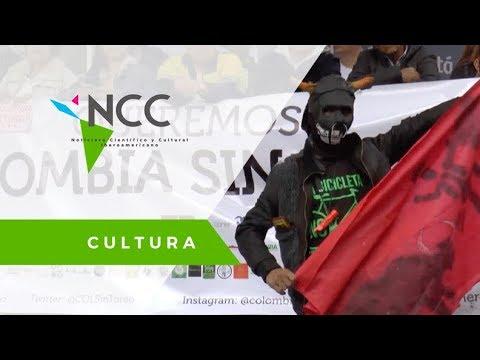En Colombia se manifiestan en contra del maltrato animal