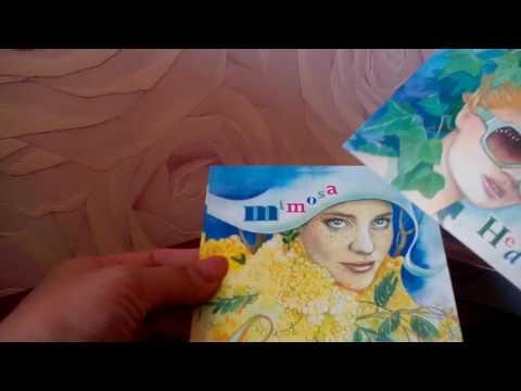 два заказа почтовых открыток для посткроссинга обзоры