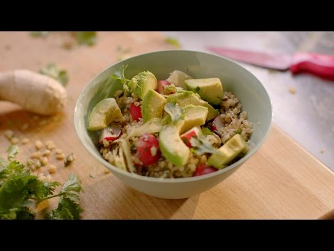 Rice Bowl With Ginger, Radish And Avocado Recipe  - Simply Nigella: Episode 3 - BBC Two