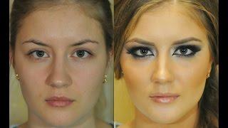 Яркий Вечерний Макияж видеоурок/ Evening makeup tutorial
