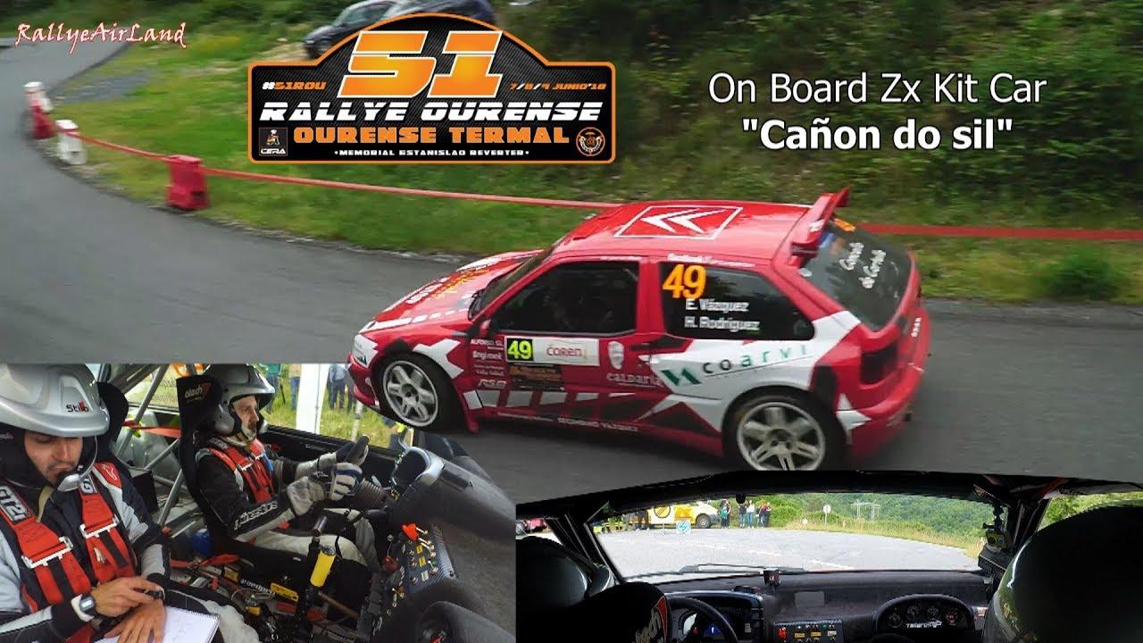 Onboard Zx Kit Car Canon Do Sil Disfrutar Pilotando 51 Rally