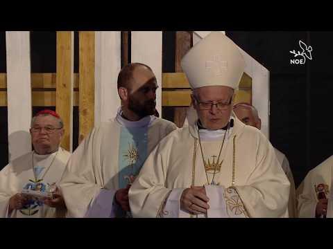 Promluva a poděkovaní na závěr mše svaté na Svatém kopečku CSM