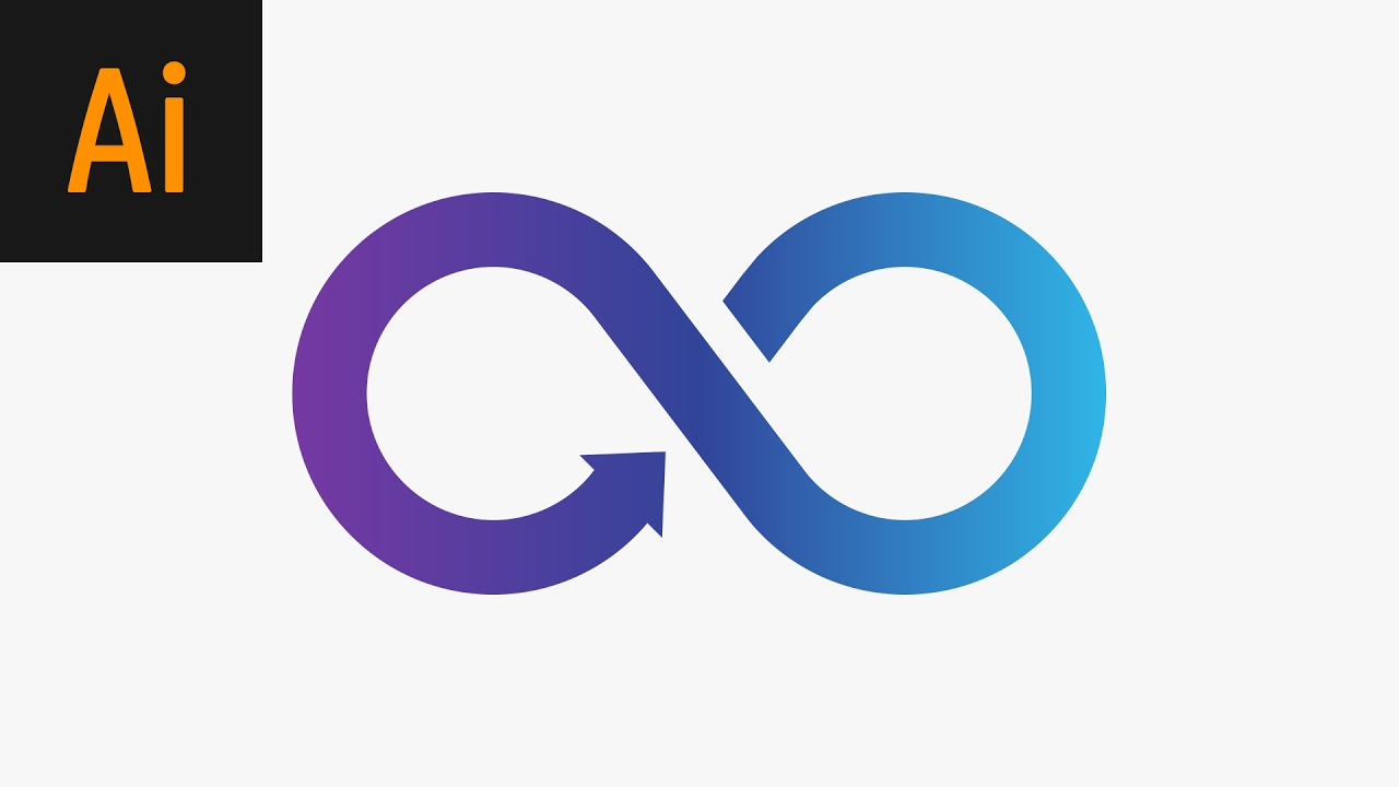 Learn How to Quickly Create an Infinity Symbol in Adobe ... |Infinite Logo Infinitize