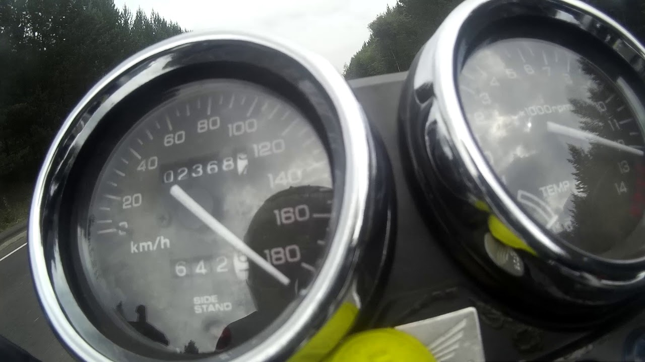 скорость разгона honda cb 400 vtec 1
