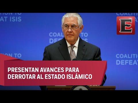 Unida la coalición para detener a ISIS: Rex Tillerson