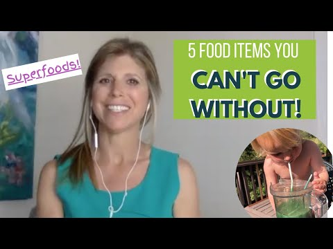 5 Food Items You Can't Go Without! (Cleansing, the Biome, Glyphosate, Purium Products & More)!