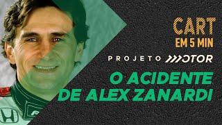 Detalhes do TERRÍVEL ACIDENTE DE ALESSANDRO ZANARDI NA CART EM 2001