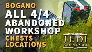 All Abandoned Workshop Chests Locations Bogano Star Wars Jedi Fallen Order
