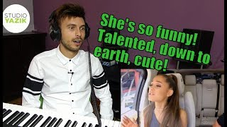 Vocal Coach Yazik REACTS to Ariana Grande in Carpool Karaoke