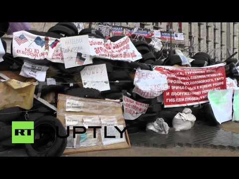 Ukraine: 'Majority for self-rule in Donetsk'