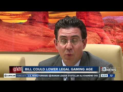 Bill could lower Nevada gambling age to 18