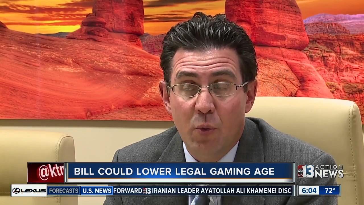 Debate lowering gambling age sports poker casino
